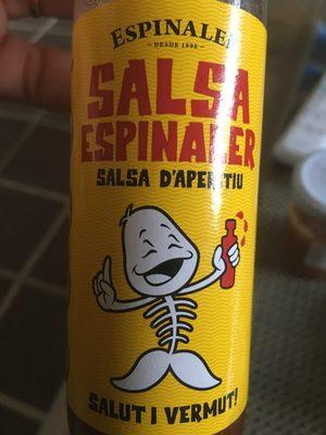 Salsa espinaler - Producto