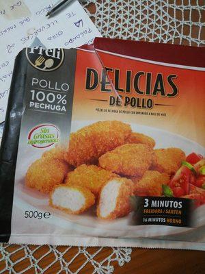 Delicias de pollo - Producto
