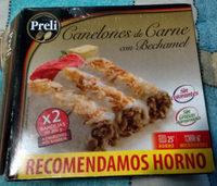 Canelones de Carne con Bechamel - Producto - es
