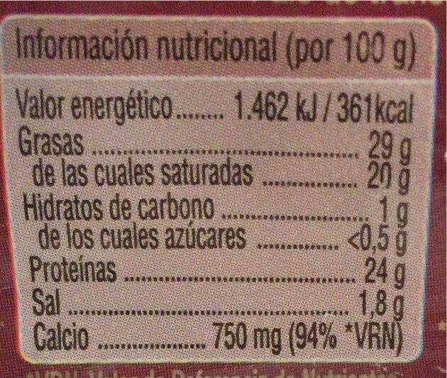 Curado - Voedingswaarden - fr