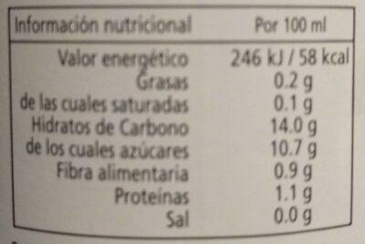 Cal Valls Orange Juice Eco - Voedingswaarden