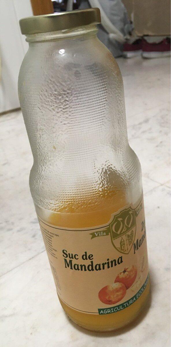 Suc de Mandarina - Agricultura Ecològica - Product - es