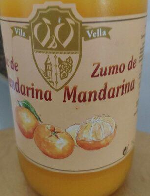 Zumo de mandarina - Producto