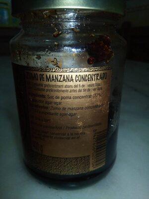 Zumo de manzana concentrado - Ingrediënten