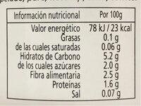 Tomate Triturado 670gr BIO - Nutrition facts - fr