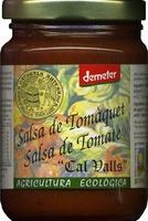 """Salsa de tomate ecológica """"Cal Valls"""" - Product - es"""