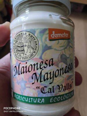 """Mayonesa """"Cal Valls"""""""