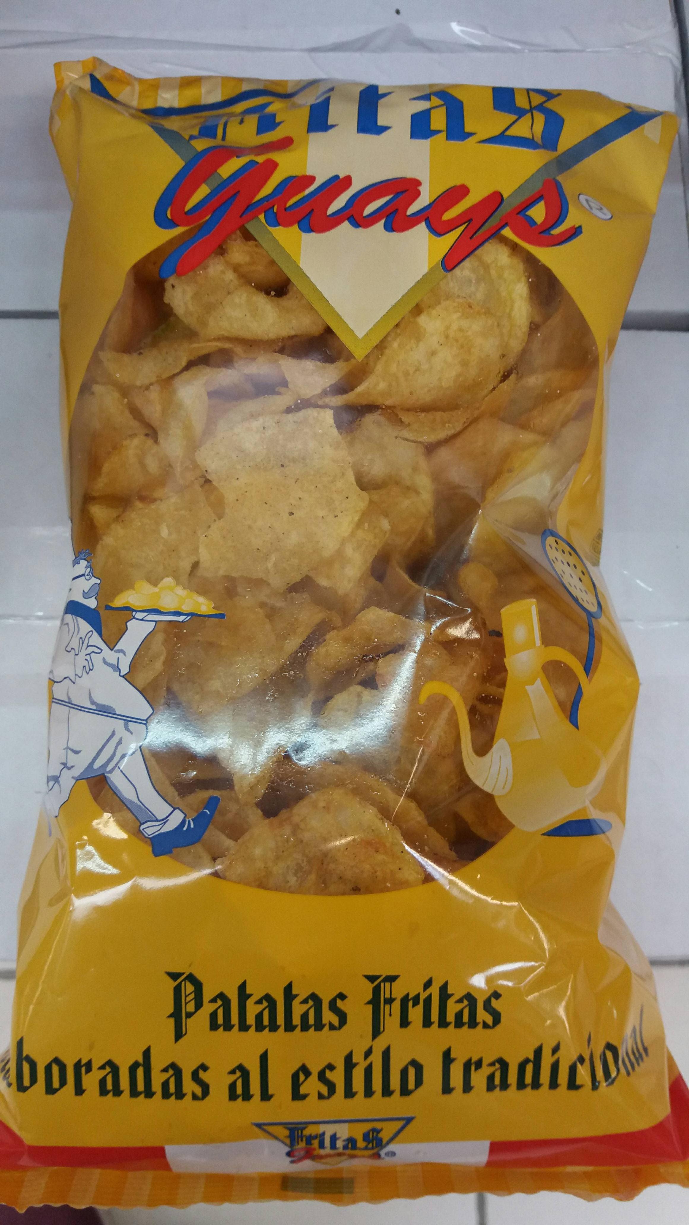 Patatas Fritas Guays - Ingredientes - es