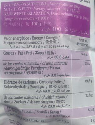 Chips de verduras - Informations nutritionnelles - fr