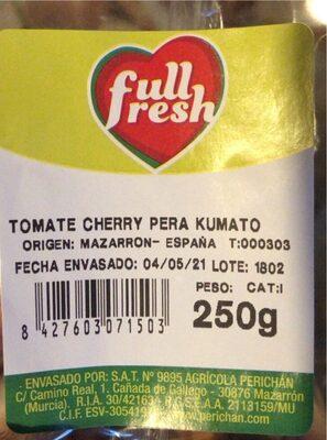 Tomare cherry pera kumato - Producte - es
