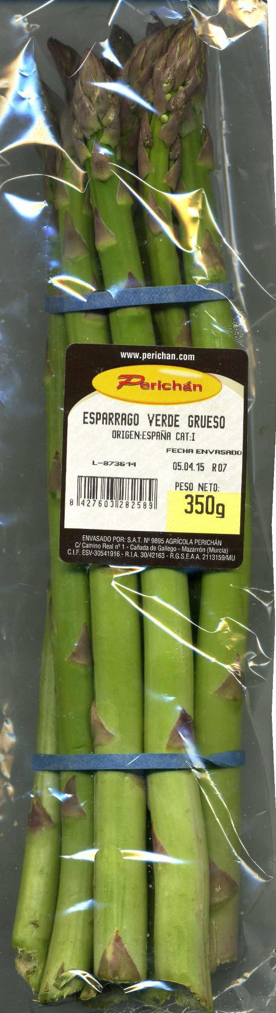 Espárragos verdes - Producto - es