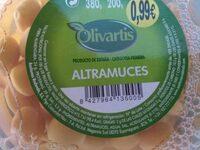 Altramuces - Nutrition facts - es