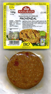 Hamburguesa de cereales provenzal - Producte