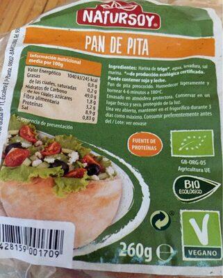 Pan de pita - Product - es