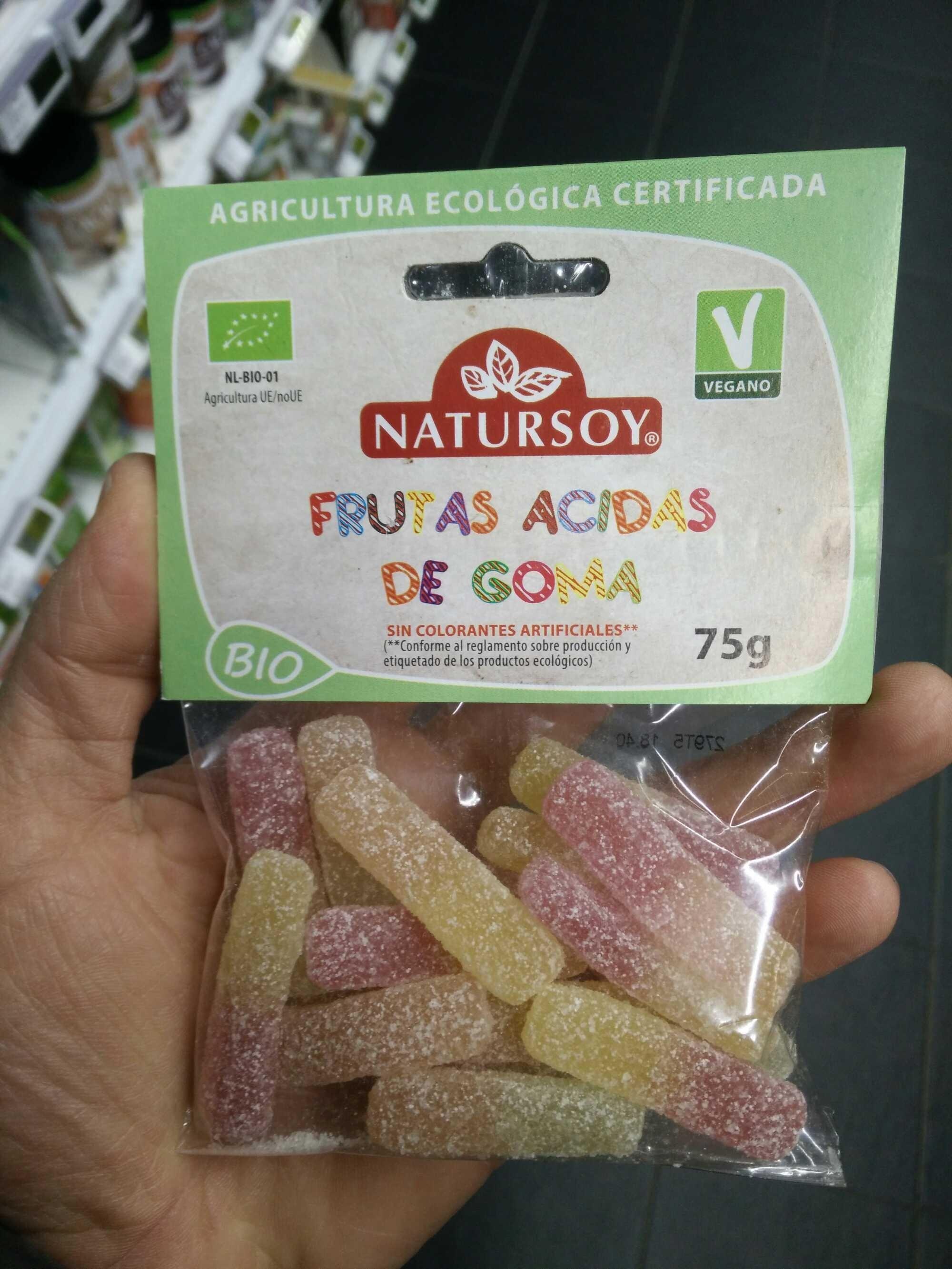 Bonbons gélifiés acid aux fruits - Producto