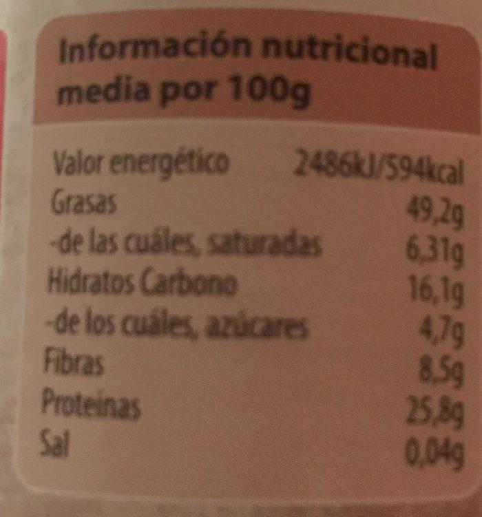 Beurre de Cacahuètes sans Sel Ajouté - Información nutricional