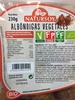 Albóndigas vegetales - Producto