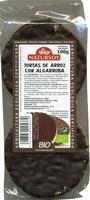 Tortitas de arroz con algarroba - Producto