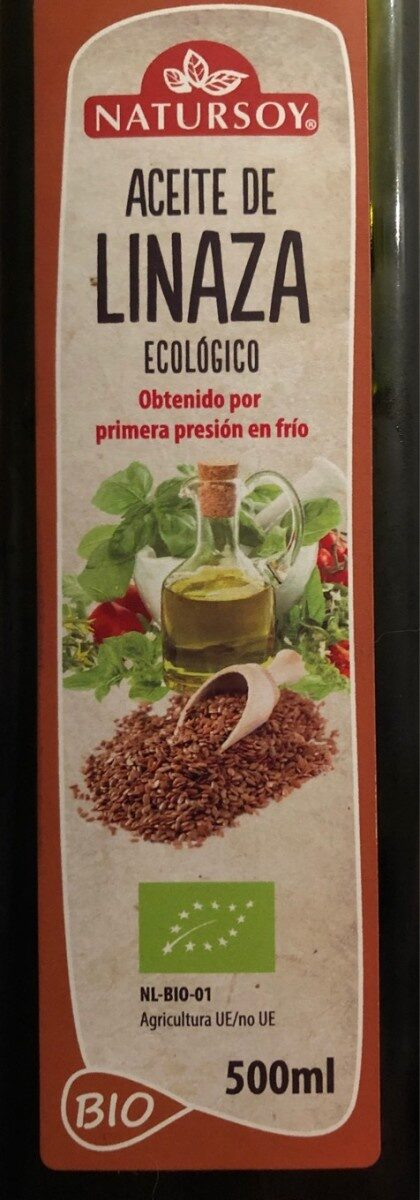 Aceite de linaza - Produit - es