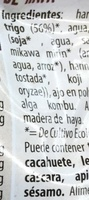 Seitán ahumado - Ingredientes