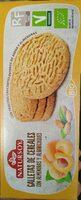 Galletas de cereales con almendras y albaricoques - Produit - es