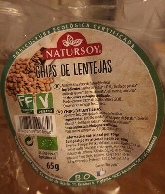 Chips de lentejas - Produit - fr