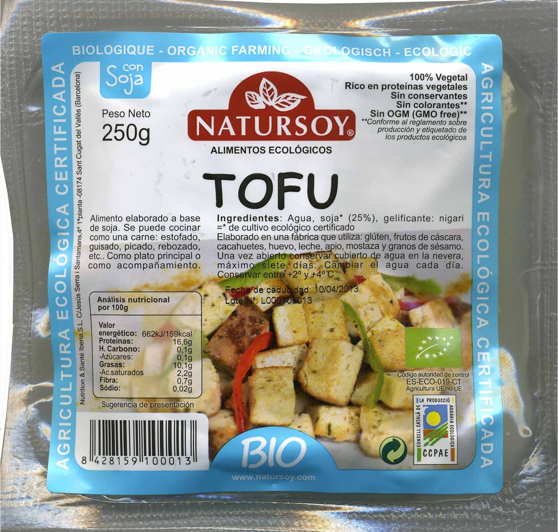 Tofu - Producto - es