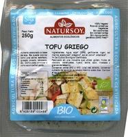 "Tofu ecológico ""Natursoy"" Griego - Producto - es"