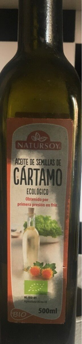 Aceite de semillas de cartamo - Produit - es