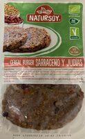 Cereal burger Sarraceno y judias - Product