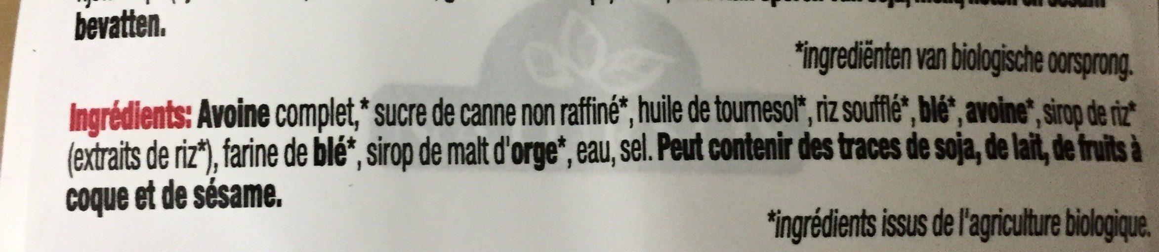 Muesli Crujiente - Ingrédients - fr