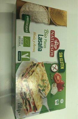 Bio placas de lasaña de maiz y arroz - Producto
