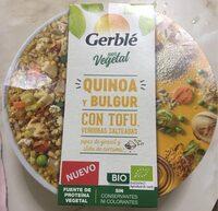 Quinoa y bulgur con tofu y verduras salteadas - Produit - es