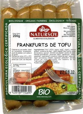 Frankfurt vegetal de tofu