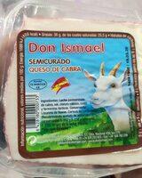 Semicurado queso de cabra - Product - es