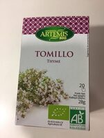 Artemis Tomillo Bio 20F - Producto - es