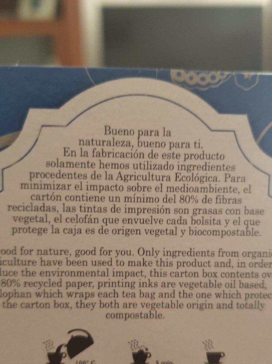 Oolong tea - Información nutricional - es