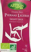 Tisana bio piernas ligeras - Producto - es