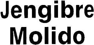 Jengibre molido - Ingredients