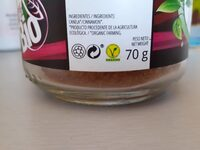 Canela ceylan molida - Nutrition facts - es