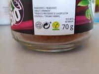 Canela ceylan molida - Información nutricional