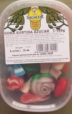 Goma surtida azúcar - Producto - es