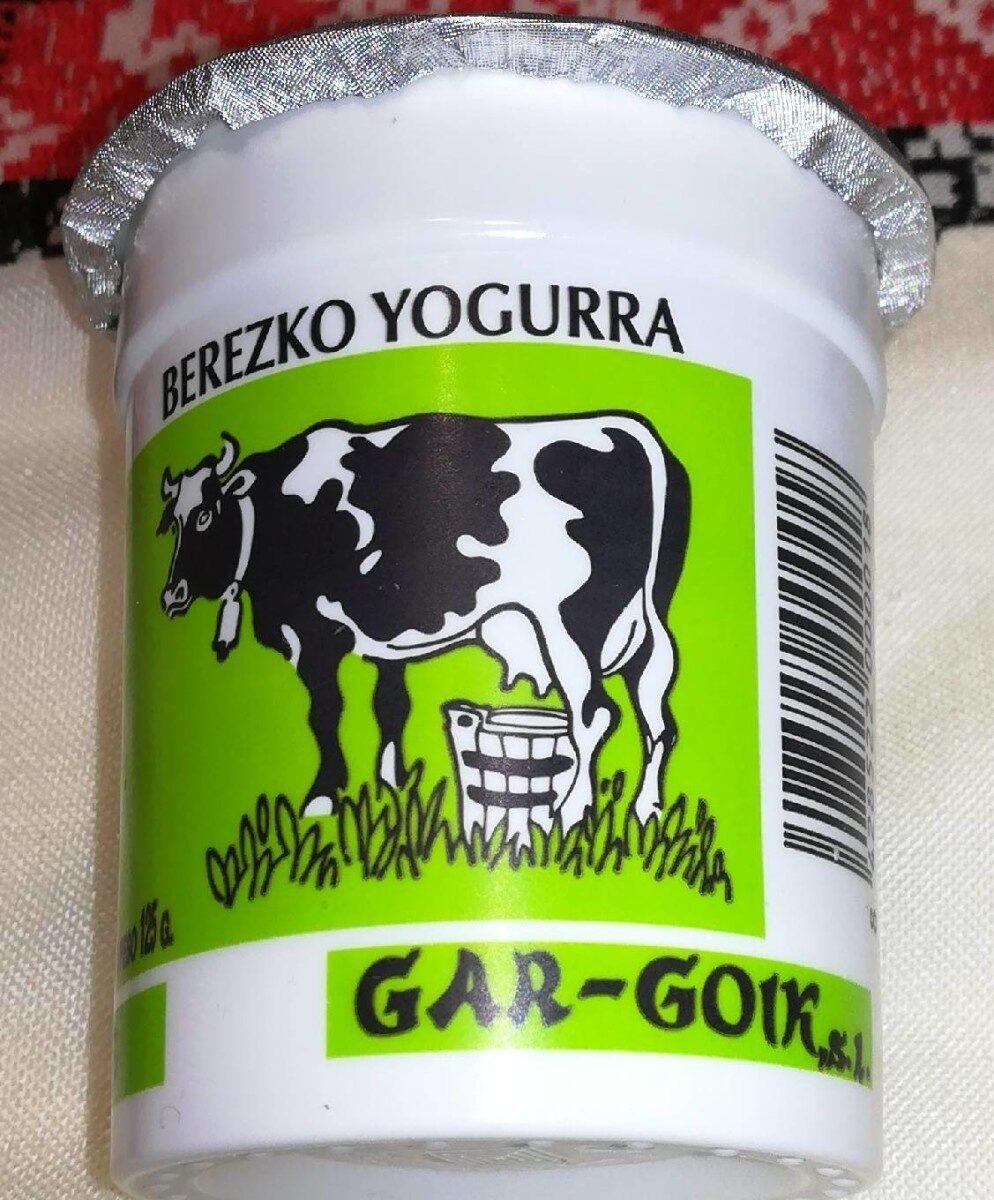 Yogur natural - Product