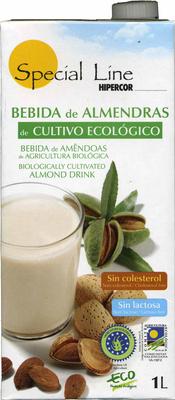 Bebida de almendras de cultivo ecológico - Producto - es