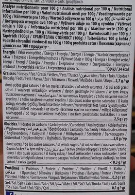 Coconut milk - Información nutricional - es
