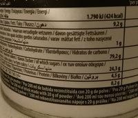 Bebida Avena Nature - Nutrition facts - es