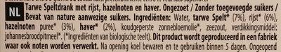Épeautre Riz Noisette Avoine - Ingrediënten - nl