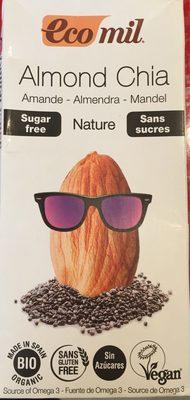 Almond Chia sans sucres - Produit
