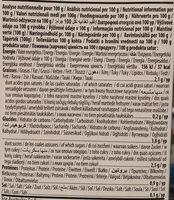 Almond barista - Informations nutritionnelles - fr