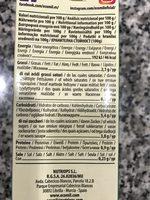 Bebida Almendra Original - Información nutricional